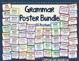 Grammar Poster Bundle: Set of 55 Posters for Grades 4-8