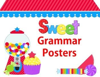 Grammar Posters Sweet Treats