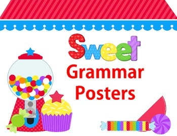 Grammar Posters Sweet Treats