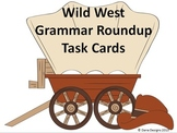 Grammar Roundup Task Cards - Types of sentences