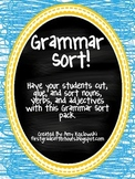 Grammar Sort Pack