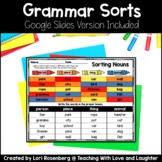 Grammar Sorts {First Grade Edition}