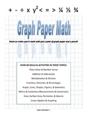 Graph Paper Math - Number Sense & Place Value teaching gui