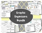 ELA Graphic Organizers Bundle- Critical Thinking and Diffe