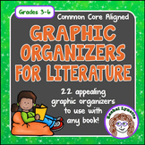 Reading Response Graphic Organizers for Use with Any Book!