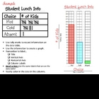 Graphing & Data Tables - Lunch Info