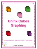 Graphing Up To 10- Unifix Cube Theme