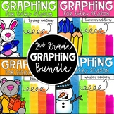 Graphing for Every Season! A GROWING Bundle for 2nd grade!