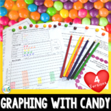 Graphing with Skittles: Tally, pictograph, and bar graph