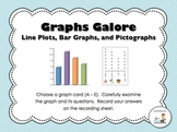 Graphs Galore!  A Graphing Math Center