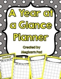 Gray and Yellow Planner FREEBIE