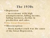Great Depression Background Mice & Men Steinbeck
