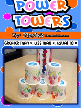 Greater Than, Less Than, Equal To Power Towers Game