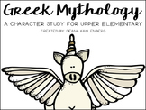 Greek Mythology {A Character Study}