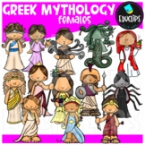 Greek Mythology Females Clip Art Bundle