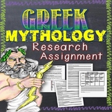 Greek Mythology Research Assignment (Free)
