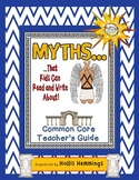 Greek Myths I Can Read and Write About for the Common Core