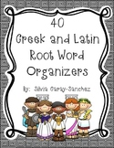Greek and Latin Root Word Organizers