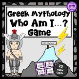 Greek Mythology Who Am I? Activity