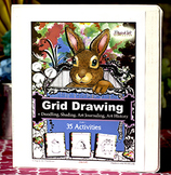 Grid Drawing  - Art Journaling - Art History - Doodling Bo