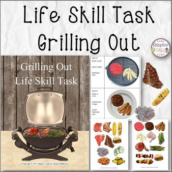 Grilling Out Life Skill Task