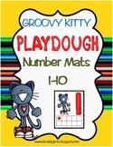 Groovy Kitty Playdough Number Mats 1-10