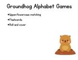 Groundhog Alphabet Centers