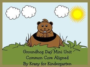 Groundhog Day Common Core Aligned Mini Unit