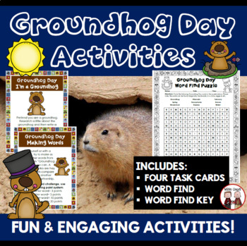 Groundhog Day Lesson Plan Activity