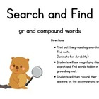 Groundhog Search and Find Center compound word and gr - CC
