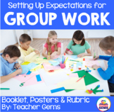 Group Evaluation Chart & Poster Set