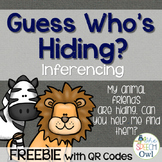 Guess Who...is hiding: A Description Guessing Game with QR Codes