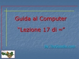 Guida al Computer: Lezione 17 - La Tastiera