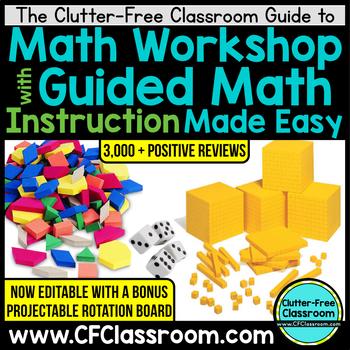 Math Workshop Guided Math - Organizing & Managing Math Workshop & Guided Math