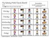 Guided Math Checklist