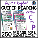 Ultimate Reading Comprehension Bundle: Guided Reading Leve