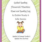 Guided Reading Homework and Reading Log