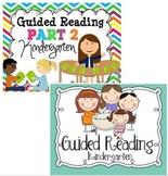 Guided Reading {Kindergarten} BUNDLE