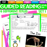 Guided Reading: Level AA