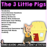 Shared &Guided Reading for Special Education with the Thre