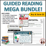 Guided Reading Activities and Worksheets (Common Core Aligned)