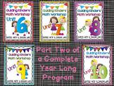 Guiding Kinders: Math Units Bundle 6-10