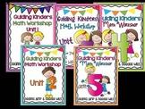 Guiding Kinders:  Math Workshop Bundle Units 1-5 { Common
