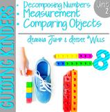 Guiding Kinders:  Math Workshop Unit 2 { Common Core Aligned }