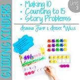 Guiding Kinders:  Math Workshop Unit 3 { Common Core Aligned }