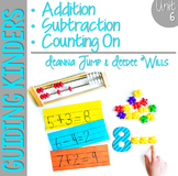 Guiding Kinders:  Math Workshop Unit 6 { Common Core Aligned }