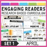Guiding Readers: APRIL NO PREP ELA Unit for K-1