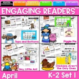 Guiding Readers: APRIL NO PREP ELA Unit for K-1