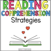 Reading Strategies: Active Reading Lessons and Task Cards {CCSS}