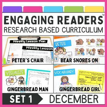 Guiding Readers: December NO PREP ELA Unit for K-1